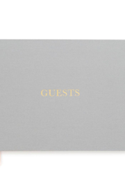 Sugar Paper Fabric Guest Book - Front cropped
