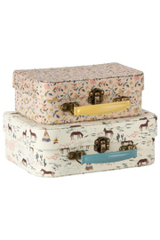 Maileg Fabric Suitcase Set - Front cropped