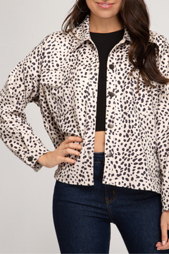 She + Sky Fabulous Faux Suede Jacket - Product List Image