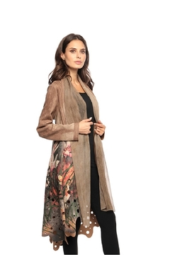 Adore Fabulous Floral Coat - Product List Image