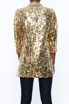 Shoptiques Product: Sequin Gold Blazer
