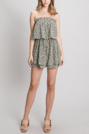 Allie Rose Fabulous in Floral romper - Product Mini Image