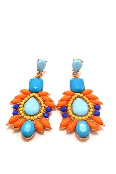 Shoptiques Product: Teal Earrings