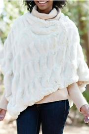 Fabulous Furs Faux Fur Poncho - Product Mini Image