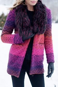 Fabulous Furs Marble Knit Sweater - Product List Image