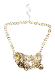 Shoptiques Product: Gold Crystal Choker