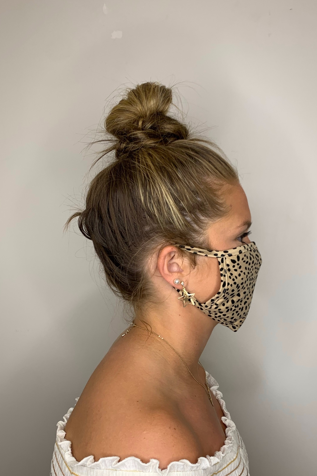Fame Accessories Face Mask - Front Full Image