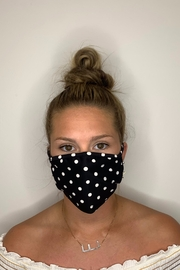 Fame Accessories Face Mask - Front cropped