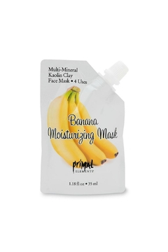Primal Elements Face Mask Banana - Product List Image