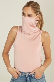 blue blush Face Mask Tank - Product Mini Image