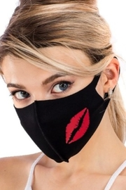 Cap Zone FACE MASK with LIPS - Front cropped