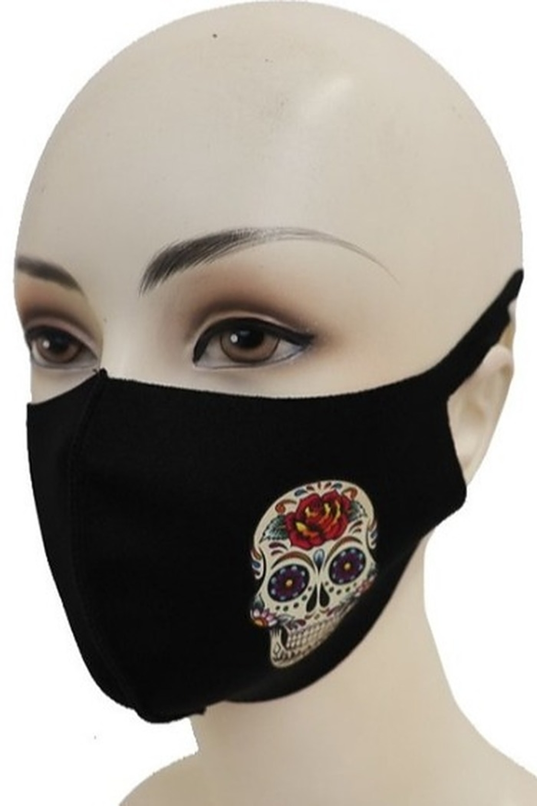 Cap Zone FACE MASK with SKULL - Main Image