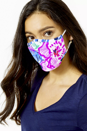 Lilly Pulitzer  Chillylilly Adult Face Mask-Set of 3 - Back cropped