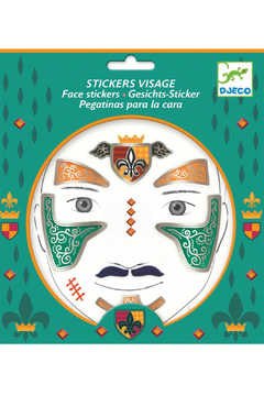 Djeco Face Stickers - Product List Image
