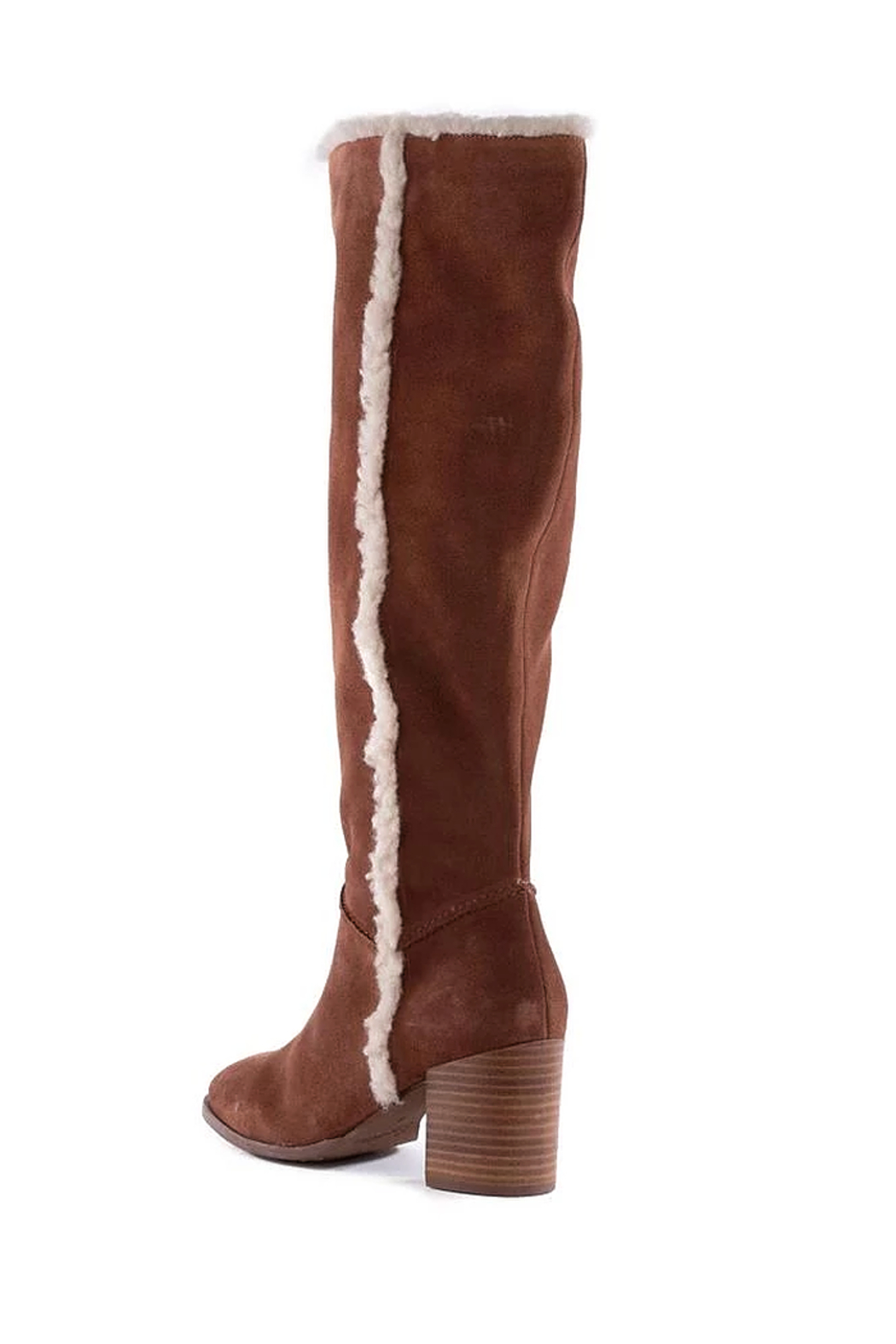 Seychelles Face to Face Shearling Tall Boot - Side Cropped Image