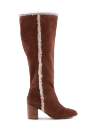 Seychelles Face to Face Shearling Tall Boot - Front cropped