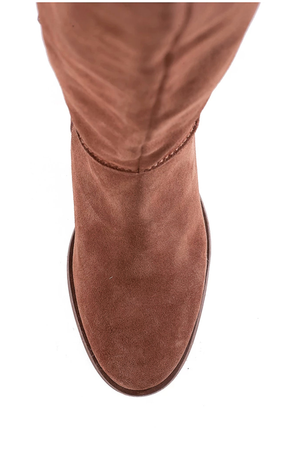 Seychelles Face to Face Shearling Tall Boot - Back Cropped Image