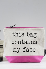 Pink Poodle Boutique Face Wash Bag - Product Mini Image