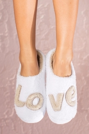 Face Plant Dreams Love Slippers - Product Mini Image