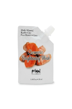 Primal Elements Facemask Turmeric Brightening - Product List Image