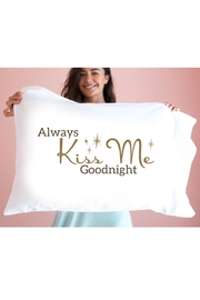 Faceplant Dreams Always Kiss Pillowcase - Product Mini Image