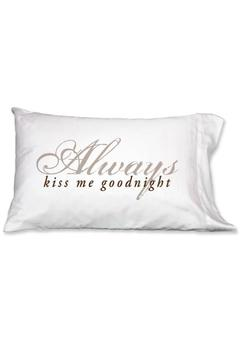 Shoptiques Product: Kiss Goodnight Pillowcase