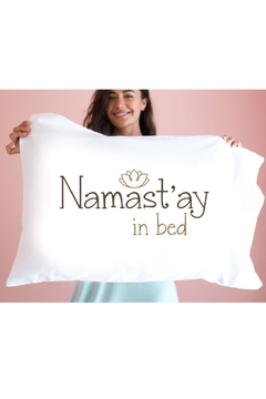 Faceplant Dreams Namast'ay Pillowcase - Product List Image