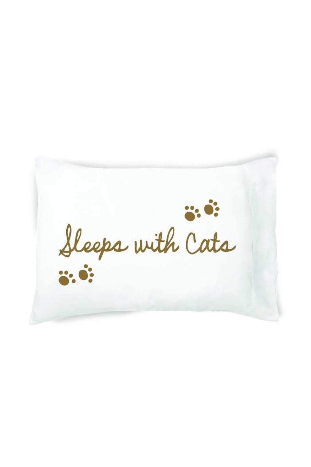 Faceplant Dreams Pillowcase Sleeps With Cats - Main Image