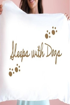 Faceplant Dreams Sleeps W/dogs Pillowcase - Alternate List Image