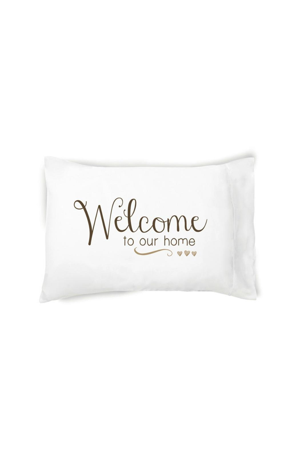 Faceplant Dreams Welcome Pillowcase - Main Image