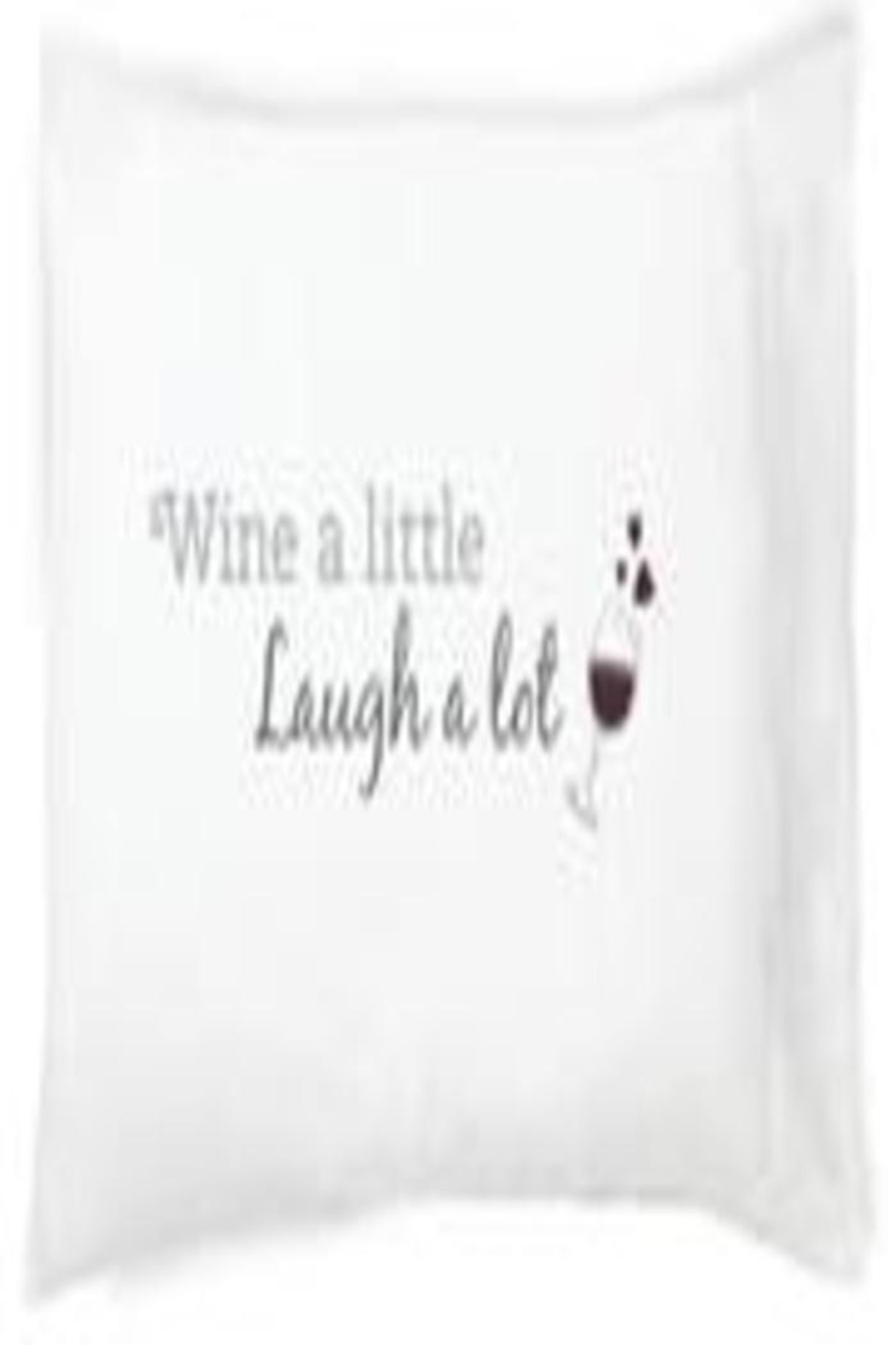 Faceplant Dreams Wine Pillowcase - Main Image