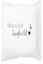 Faceplant Dreams Wine Pillowcase - Front cropped