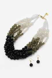 Embellish Faceted Glass Necklace - Product Mini Image