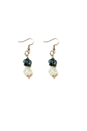 Love's Hangover Creations Faceted Lho Earrings - Product Mini Image