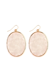 Riah Fashion Faceted Marble-Drop Earrings - Product Mini Image
