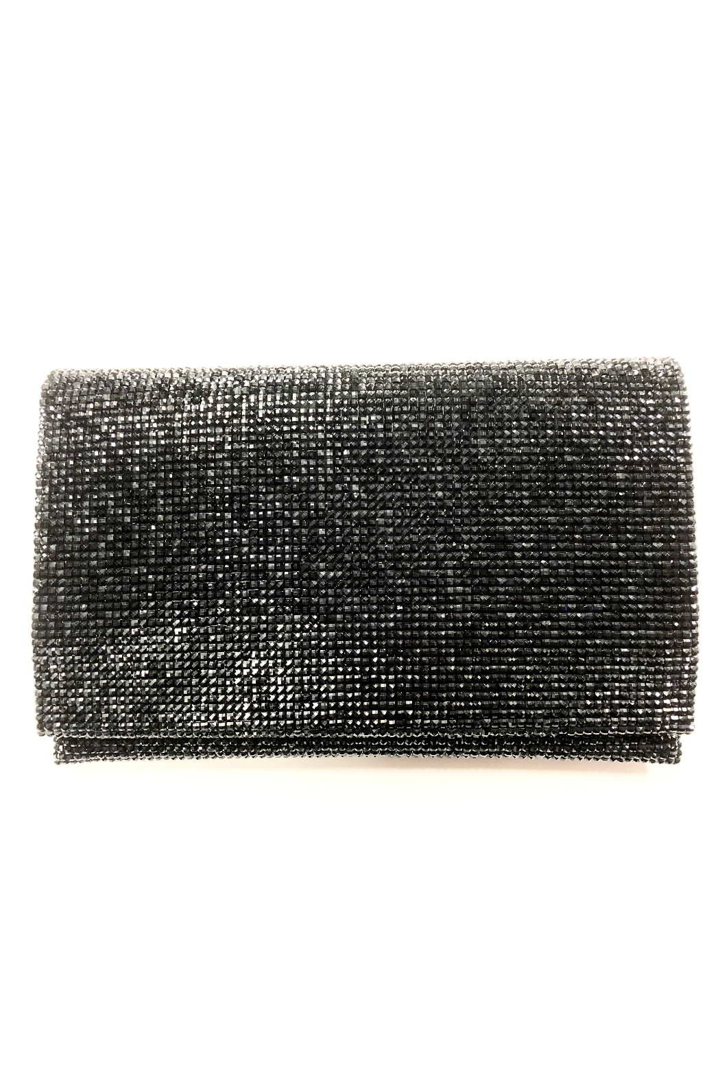 Sondra Roberts Facetted Crystals Clutch - Front Cropped Image