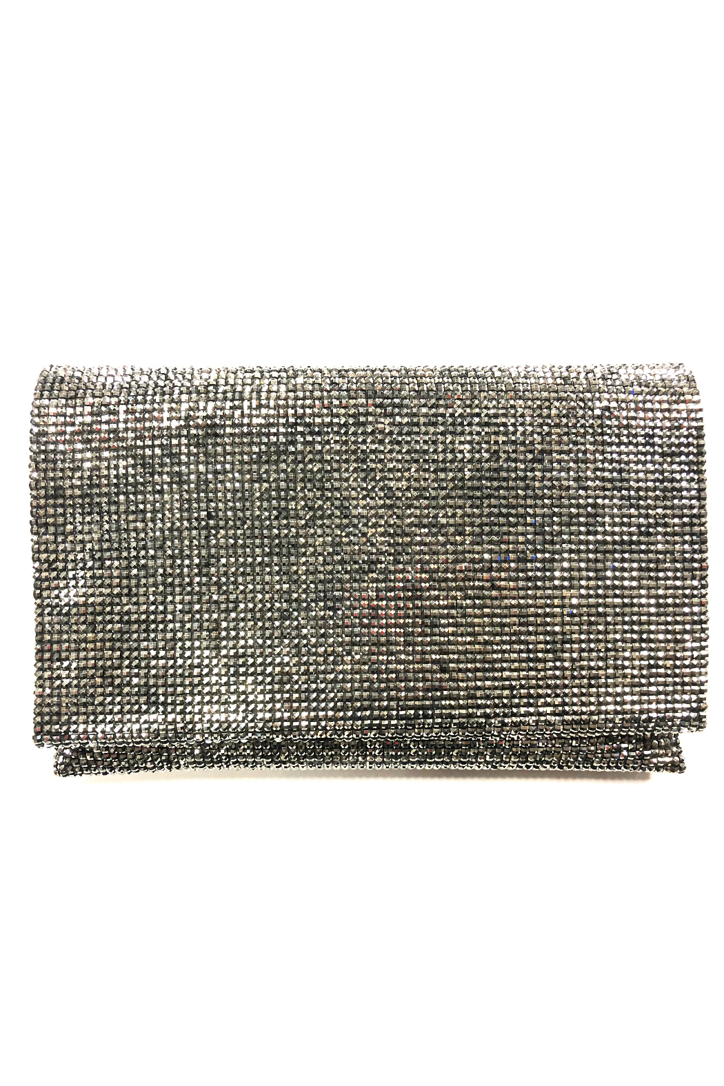 Sondra Roberts Facetted Crystals Clutch - Main Image