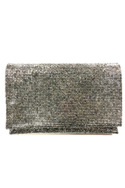 Sondra Roberts Facetted Crystals Clutch - Product Mini Image