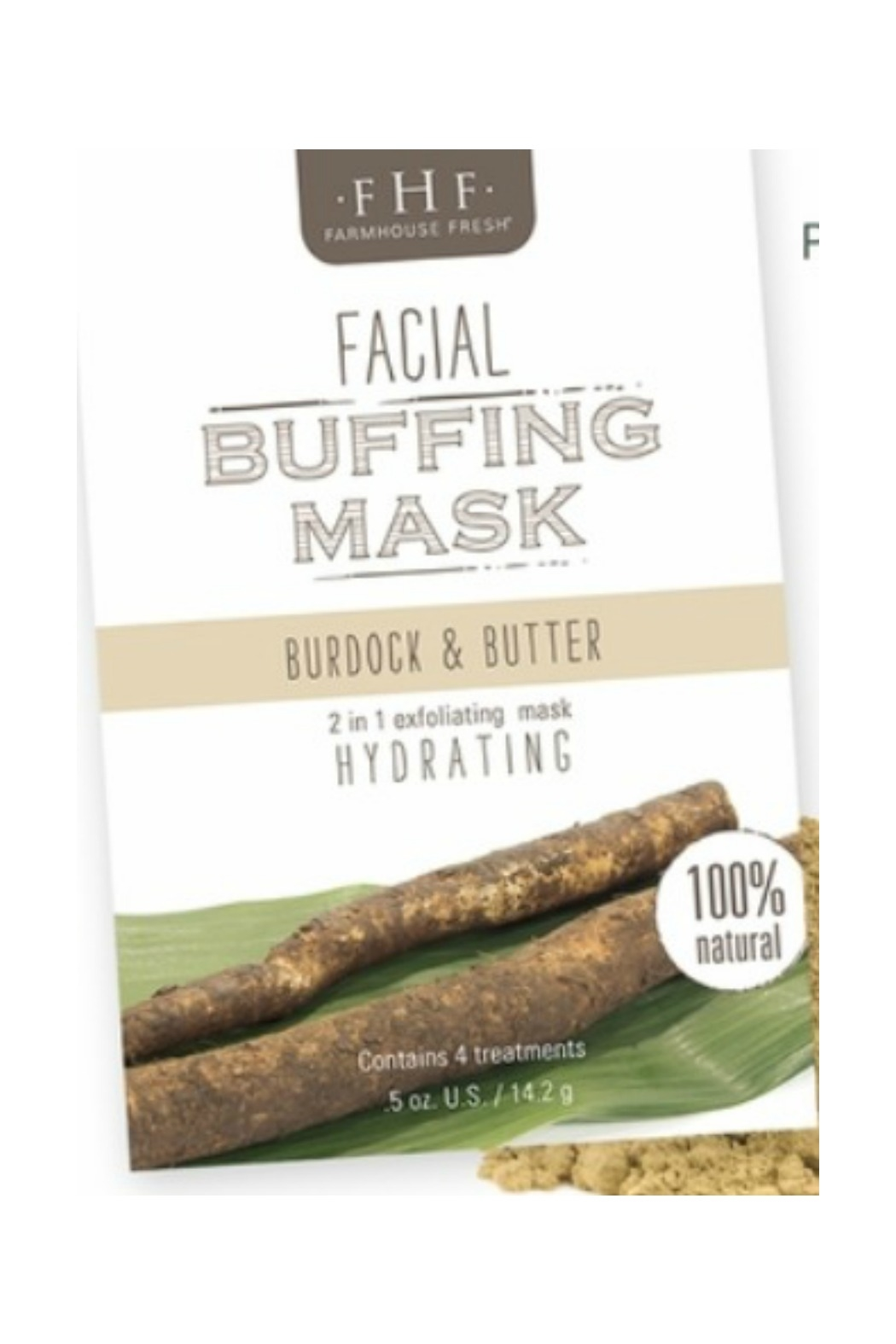 Farmhouse Fresh Facial Buffing Mask - Front Cropped Image