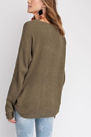 easel Faded Color-Block Top - Side cropped