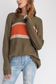 easel Faded Color-Block Top - Other
