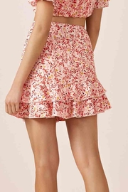 Faded Skirt - Back cropped