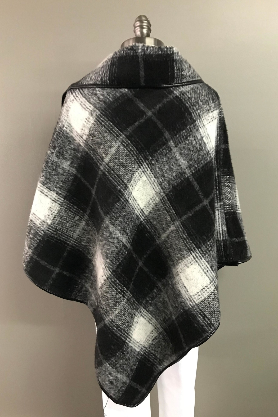 FADIVO New York Poncho With a Punch - Front Full Image