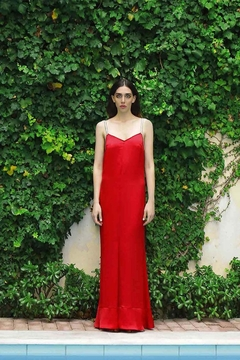 Levinia Konyalian Faedra Red Dress - Product List Image