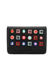 FaFa-Montreal Cara Clutch - Front cropped