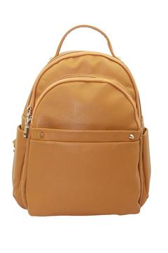 Shoptiques Product: Amber Vegan Leather Backpack