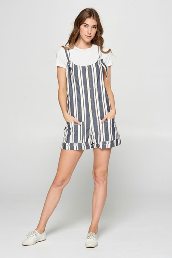 Ellison FAIR GAME ROMPER from California by Girl's Fashionably Late — Shoptiques