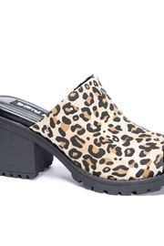 Dirty Laundry Fair Play Leopard Mule - Product Mini Image