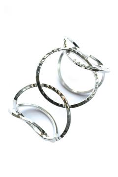 Fair & Square Imports Circles Silver-Overlay Cuff - Alternate List Image