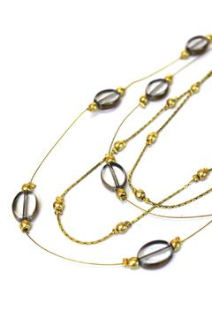 Fair & Square Imports Golden Layers Necklace - Alternate List Image